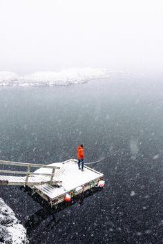A quiet moment in Moskenes, Lofoten Islands.
