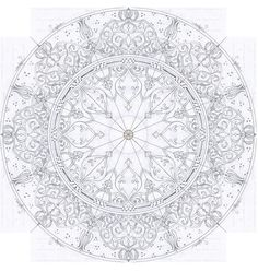 Discover recipes, home ideas, style inspiration and other ideas to try. Islamic Art Pattern, Arabic Pattern, Pattern Art, Pattern Design, Mandala Design, Mandala Art, Autocad Gratis, Turkish Art, Arabic Art