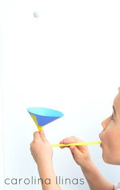 #Artividades : Experimento para hacer flotar una pelota