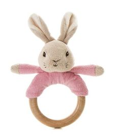 Flopsy Rabbit Wooden Ring Rattle – Modo Creations