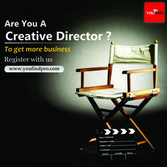 Register with us www.in.youfindpro.com  #director #creativedirector