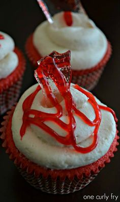 Dexter Series Finale Cupcakes!