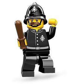 Lego Minifigura Colecionável - Série 11 - Policial - Lacrado - R$ 11,68
