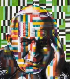 Joao Paulo II. Tela. Eduardo Kobra (S.Paulo, SP, Brasil, 1976 - ). 3d Street Art, Kobra Street Art, Street Art Graffiti, Street Artists, Pablo Picasso, Installation Street Art, Old School Fashion, Boy Character, Collage