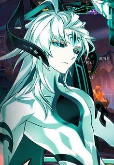 Resultado de imagen para elsword ain apostasia Sci Fi Anime, Anime Demon, Anime Art, Ain Elsword, Elsword Game, Naruto Oc Characters, Fantasy Characters, Fictional Characters, Fantasy Character Design