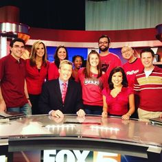 #flashbackfriday February, 2012 with the @fox5vegas crew! Great team.❤️ virtual hug for @vegasanchor - finally on #instagram. #tvnews #lasvegas