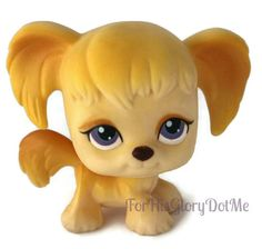 Baby cocker spaniel puppy dogs are the cutest!  Check out our more Littlest Pet Shop items here: www.ForHisGloryDotMe.com