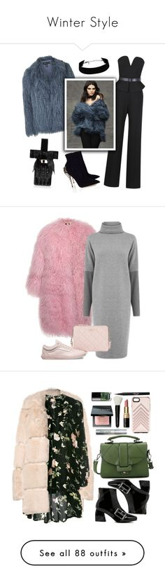 """""""Winter Style"""" by bunnygirl21 ❤ liked on Polyvore featuring outerwear, coats, jackets, coats & jackets, casacos, draped trench coats, beige trench coat, leather-sleeve coats, trench coat and drape coat"""
