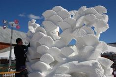 20 Incredible Snow Sculptures That Will Warm Your Heart