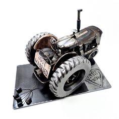 Tractor Sculpture Wedding Gift by Brown Dog Welding, via Flickr