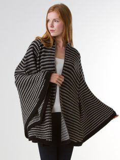 Checkerboard Cape $380 at Margaret O'Leary - SF