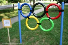 Check out this javelin throw from Hoosier Homemade backyard Olympic games