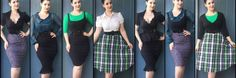 Since everyone LOVED my previous capsule wardrobe post where I created 26 outfits out of 10 items, it's time for another! Like the Rockabilly look from the last post, office appropriate attir…