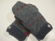 Lincoln Park Wool Mittens  med/lg  MMC487 by MichMittensbyLauri, $23.00