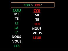 Check out this #Kahoot called 'Les pronoms COD/COI' on @GetKahoot. Play it now!
