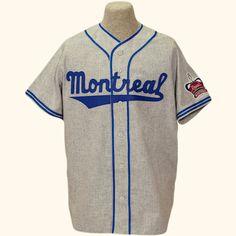 Montreal Royals 1954 Road - Jackie Robinson's minor league team