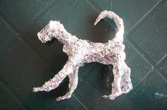 Making aluminum Foil sculptures More