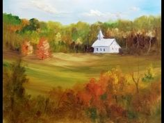 Paint Along with Larry Hamilton - November 20, 2013 - Oil Painting - Cades Cove - for Class