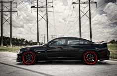 2014 Dodge Charger SRT8   charger customized dodge charger srt8 lowered on 22 vossen wheels