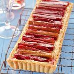 Rhubarb and White Chocolate Tart » Recipes » Cadbury Kitchen