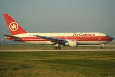 Air Canada Boeing 767-200; C-GAUP, October 1993