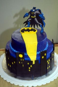 Batman to the Rescue By cakebymom2 on CakeCentral.com