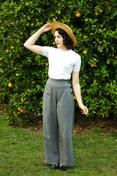 Vivien of Holloway 1940's Swing Trousers