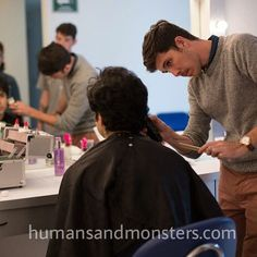 #makeup test @bichirito4 para #Refugio, ópera prima de Demián Bichir. #CesarPerlop #humansandmonsters