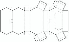 Tear-open Box Template No.01 | Free Box Templates Store