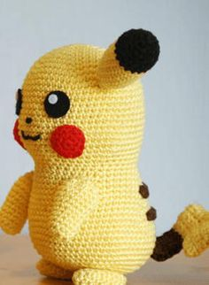 Pikachu-Inspired Crochet Pattern