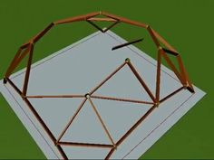You can get a lot of motivation from these photos and create a showpiece of a design. Yurt Home, Roof Truss Design, Natural Architecture, Dome Structure, Geodesic Dome Homes, Framing Construction, Earthship Home, Raised Bed Garden Design, Gazebo Plans
