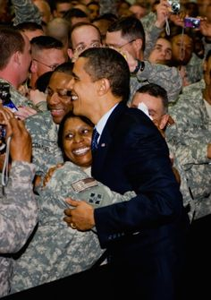 On Memorial Day Eve, President Obama Visits Troops In Afghanistan