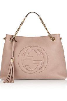 Gucci Soho medium textured-leather shoulder bag | NET-A-PORTER