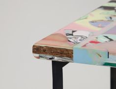 Resin Topped Stools from Chen Chen & Kai Williams