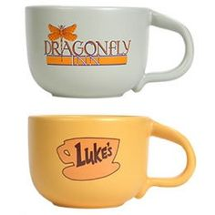 Gilmore Girls mugs. Want!