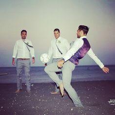 It' s a man story... Wedding or football? Photo by: Samantha Patterson @mrspatouk