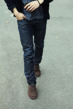 VERY cool boots and jeans