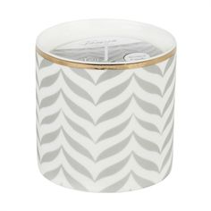 Thompson Ferrier Venetian White Tea and Mint Jar Candle Candle Jars, Candles, Grey Chevron, Lowes Home Improvements, Home Accents, Venetian, Jewelry Box, Decorative Plates, Mint