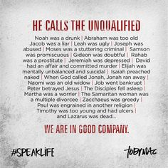 #speaklife