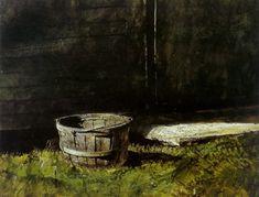 Andrew Wyeth - Bean basket