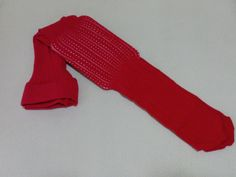 Pantys calados en tono rojo Tallas desde 3 meses a 8 años Marca....ADARA-APRICOT