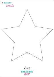 """Résultat de recherche d'images pour """"gabarit étoile à découper"""""""
