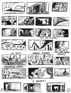 Image Result For Colourful Storyboard Examples  Storyboards