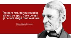 Funny Inspirational Quotes, Motivational, Ralph Waldo Emerson, Future Tattoos, Romania, Wolf, Writer, Wisdom, Facts