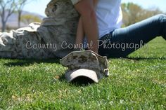 Military Couple Photos - this one I would have them facing outward, with his hat on instead.....once again, I change the entire photo ;)   for katie and kyle