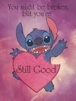 Stitch Loves You by Morloth88