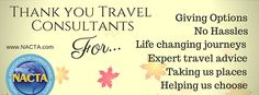 Thank you Travel Consultants! www.FindaTravelConstultant.com