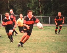 Dave & Mountaineers, Rugby Weekend, aug 1999