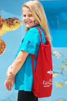 Drawstring backpack  #backpack #loggerheadmarinelifecenter #seaturtles #shop