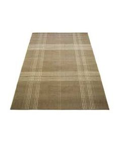 buy atlantis checks rug brown 120 x 170cm at argoscouk